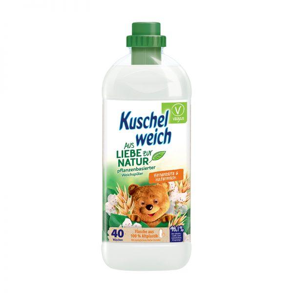 Kuschelweich Aviváž hruškový kvet & ovsené mlieko 1L 40 PD