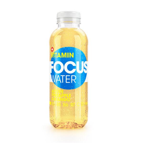 FOCUSWATER Vitamínová voda Active 0,5l