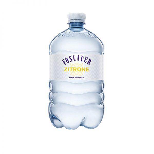 Vöslauer minerálna voda perlivá citrónová 1l