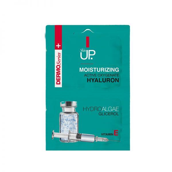 SkinUP Hydratačná pleťová maska Dermo Series Hyaluron 10 ml