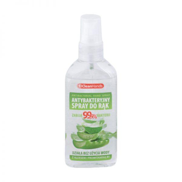 CleanHands Antibakteriálny sprej na ruky s Aloe Vera 100 ml