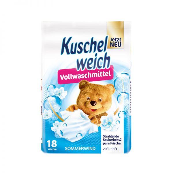 Kuschelweich práškový univerzálny prací prostriedok Letný vánok 1,215 kg