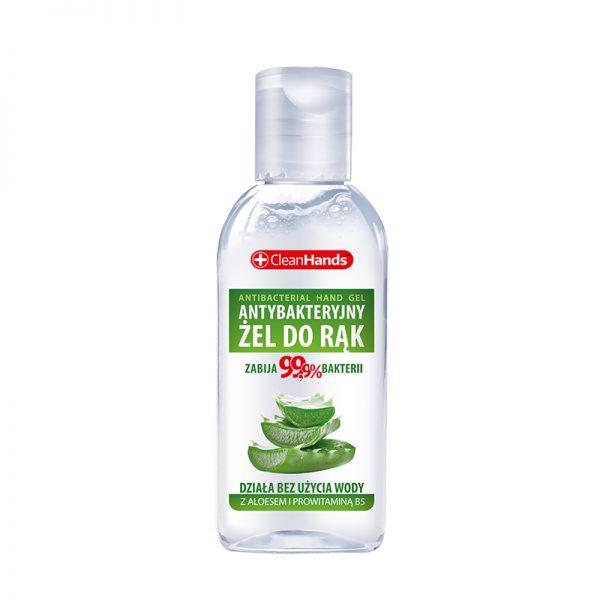 CleanHands Antibakteriálny gél na ruky s Aloe vera 50 ml