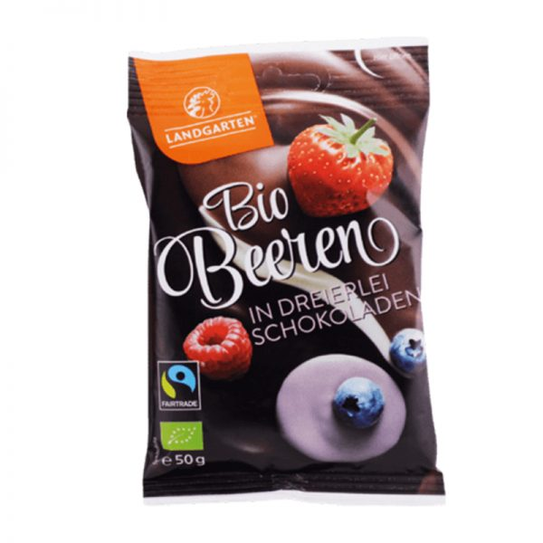 Landgarten Mix ovocia v trojakej čokoláde 50 g