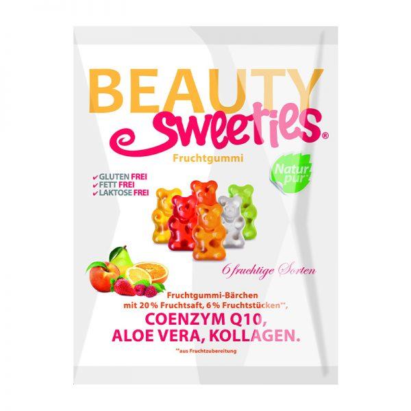 Beauty Sweeties ovocné želé medvedíky 125 g