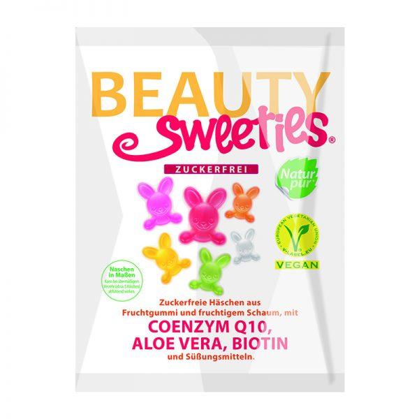 Beauty Sweeties VEGAN ovocné želé zajkovia 125 g