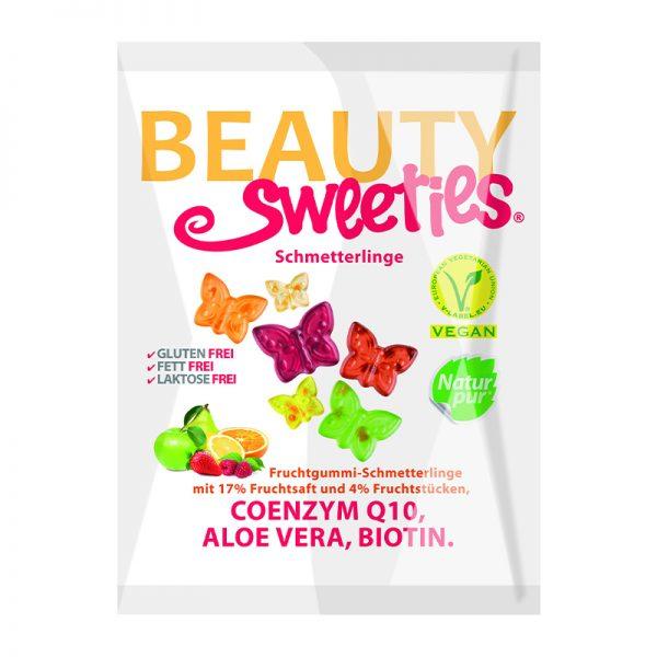 Beauty Sweeties VEGAN ovocné želé motýliky 125 g