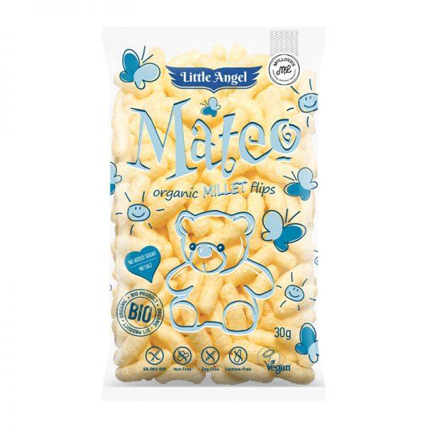 MC LlOYDS BIO Mateo kukuričné chrumky s prosom 30 g