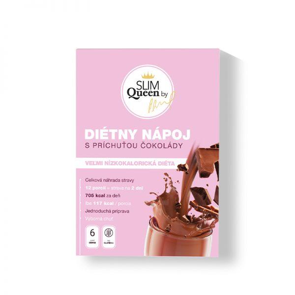 SLIM Queen Diétny nápoj s príchuťou Čokolády 384g