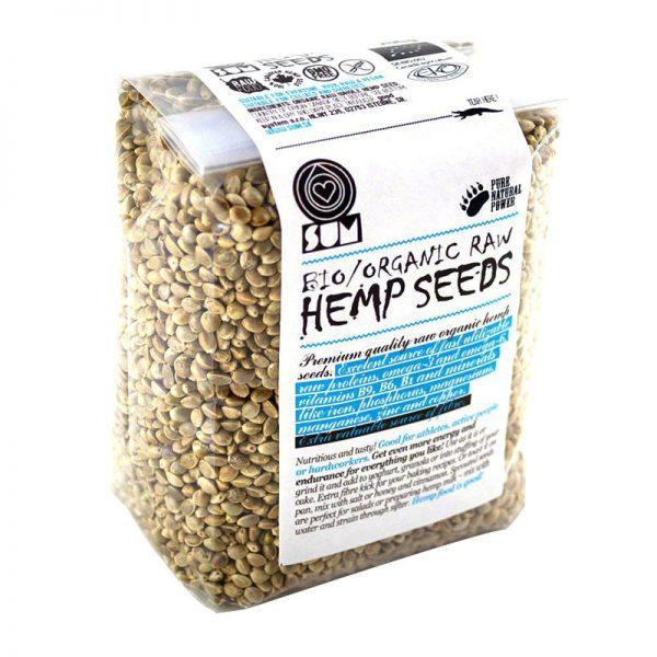 Sum Bio Konopné semienko raw nelúpané 200g