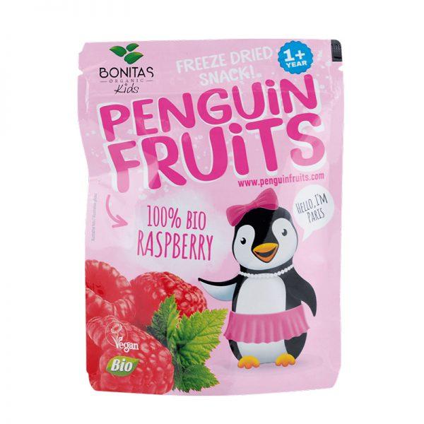 BONITAS ORGANIC BIO zmes sušených malín Penguin Fruits 10 g