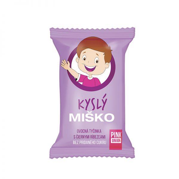 Pink Onion detská ovocná tyčinka Kyslý Miško 20g