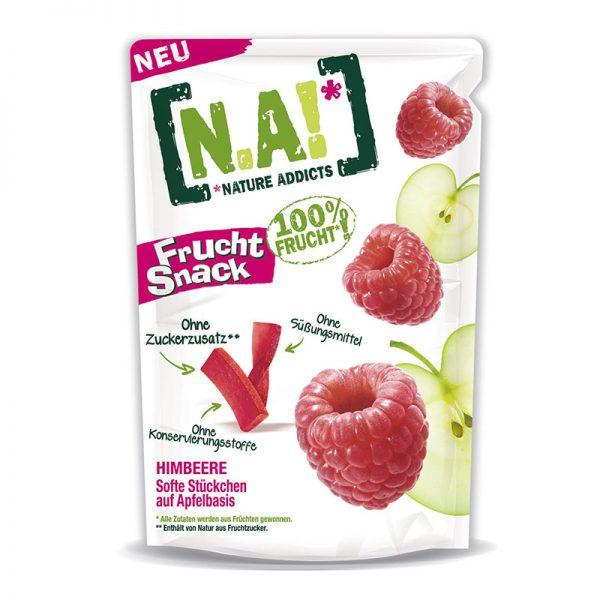 N.A! ovocné tyčinky Frucht Snack Jablko & Malina 35g