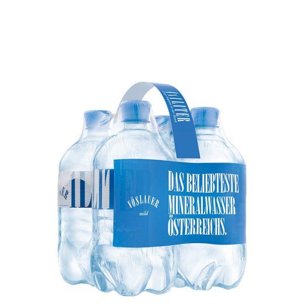Vöslauer minerálna voda jemne perlivá 1l