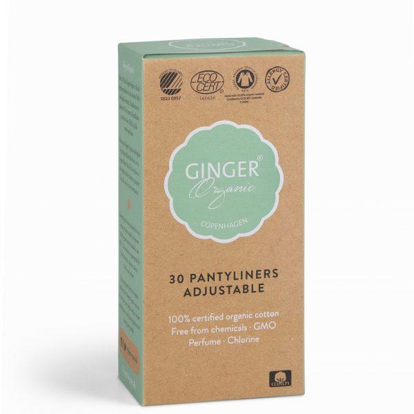 Ginger Organic slipové vložky 30 ks