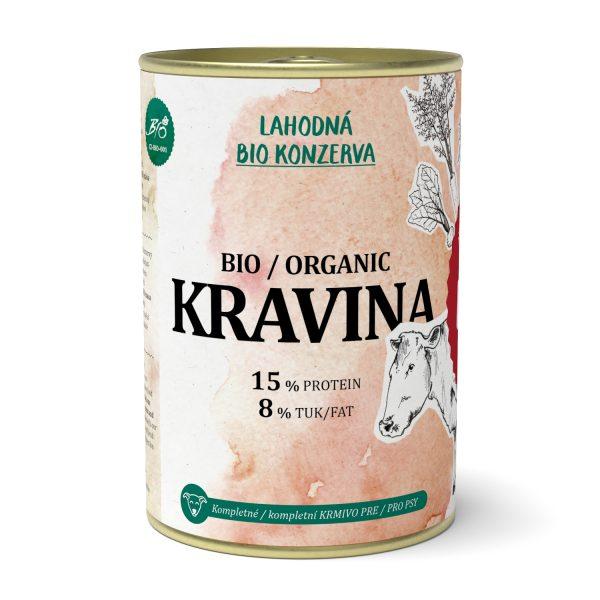 PET FARM kravina lahodná konzerva 400 g