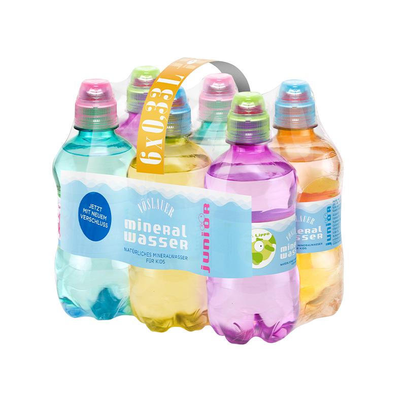 Vöslauer Junior prírodná minerálna voda pre deti 0,33l