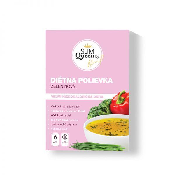 SLIM Queen Diétna polievka Zeleninová 384g