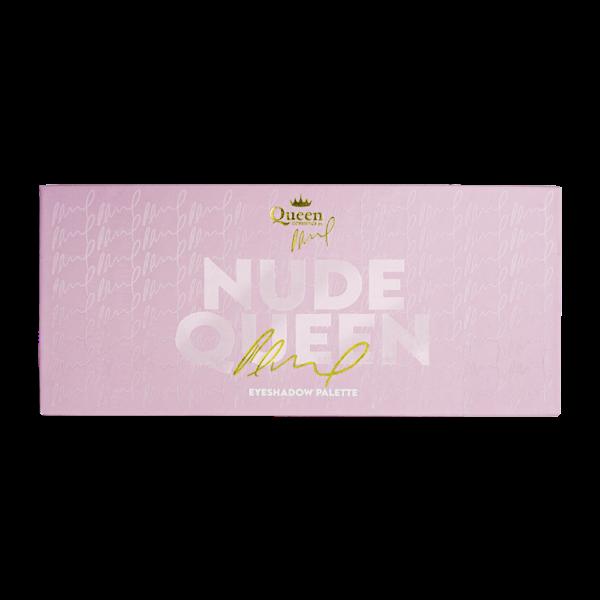 Queen COSMETICS Paletka očných tieňov Nude Queen 12 g