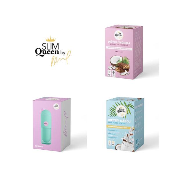 SLIM Queen diétny balík kokosový