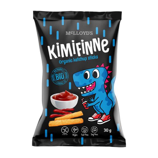 MC LlOYD´S Kimifinne Bio Kukuričné tyčinky s príchuťou kečupu 30 g