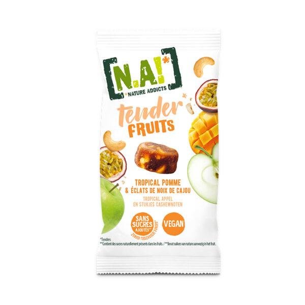 N.A! Tender Fruits Tropické ovocie Jablko & Kešu orechy 30 g